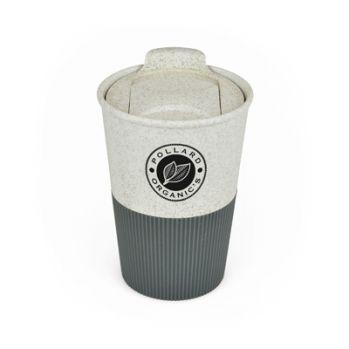 Promotional Bamboo Grippy Travel Mug