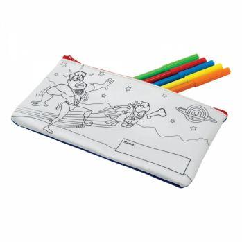 Promotional Colour-In Pencil Case