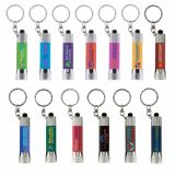Full Colour Printed McQueen Soft Touch Torch Keyring