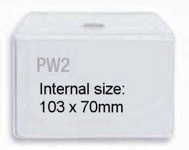 Promotional PW2 Plastic Wallet