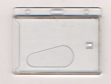 Promotional PW4 Clear Rigid Wallet