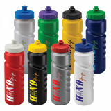 Promotional 750ml Finger Grip Sports Bottle