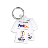 Recycled Eco 3D Shirt Shaped Keyring