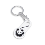 Recycled Eco Trolley Stick Keyring