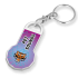 Recycled Eco Trolley Stick Keyring - New Shape