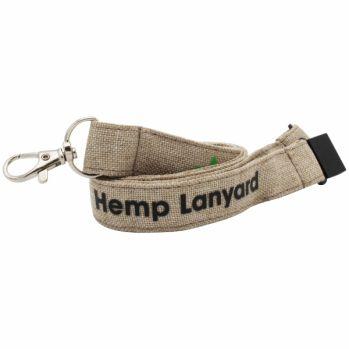 Promotional 15mm Hemp Lanyard