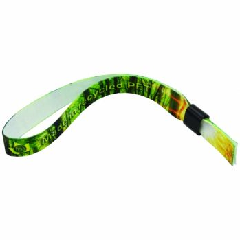 Branded Recycled PET Event Wristband
