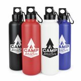 Promotional Flounder 750ml Drinks Bottle with Carabiner