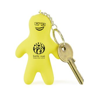 Promotional Small Person Stress Keyring