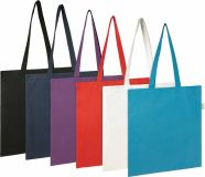Eco friendly Seabrook' 5oz Recycled Cotton Tote