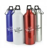 Branded 750ml Herring Aluminium Drinks Bottle