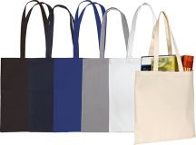 Promotional Sandgate 7oz Coloured  Cotton Canvas Tote Bag