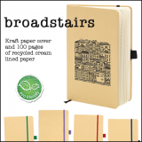 Broadstairs' A5 Kraft Paper Notebook