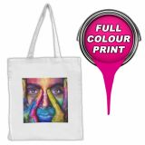 Printed Vienna Dye Sub Tote Bag - Express & Short Run