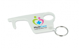Recycled Hygiene Hook Keyring