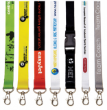 Branded 15mm Dye Sublimation Lanyard