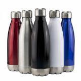 Promotional Miami Vacuum Flask - Stainless Trim