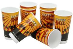 16oz Double wall Promotional Paper Cups