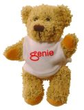 Promo 5 inch Korky Bear with T Shirt