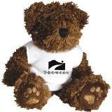 Promo 5 inch Beanie Bear with Neck Bow