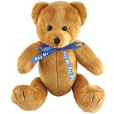 Promo 10 inch Robbie Bear with Bow