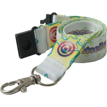 Branded 20mm Dye Sublimation Polyester Lanyard