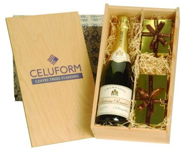 Promotional Champagne Chocolates and Truffles Crate