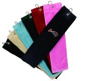 Custom Printed Tri Fold Velour Golf Towel