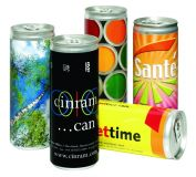 Promotional Promotional Drinks Can with choice of filling