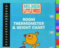 Promo Height Chart with Thermometer