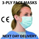 3 Ply Face Disposable Mask - (Next Day)