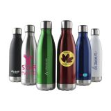 Custom Printed 500ml Double Walled Stainless Steel Water Bottle