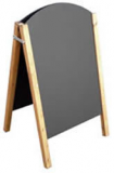 A1 Rounded Top Chalkboard
