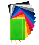 Promotional A5 Spectrum Hardcover Notebook
