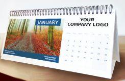 Bespoke Printed Desk Calendar