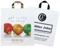 Promotional Biodegradeable Flexiloop Carrier Bag