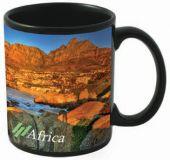 Printed Black Wycombe Dye Sub Mug