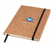 Branded A5 Napa Cork Notebook