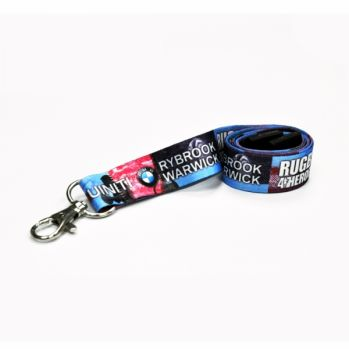 Branded 20mm Dye Sublimation Lanyard - UK Express 3 Day