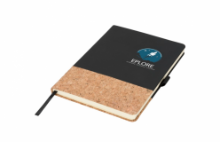 Branded A5 Evora Cork Thermo PU Notebook
