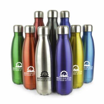 Branded Ashford Plus Thermal Drinks Bottle