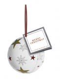 Branded Bauble Tin with Foil Caramels