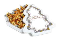 Branded Maxi Christmas Tree Sweet Tin