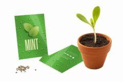 Branded Seed Packet Envelopes Medium- Gloss