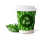 Compostable 12oz Doublewall Paper Cups