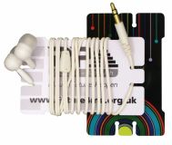 Promotional Earphone Card Winder
