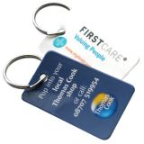 Promotional Mini Plastic Key Fobs
