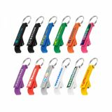 Full Colour Plastic Bottle Opener Keyring