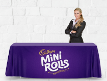 Full Colour Printed Polyester tablecloth