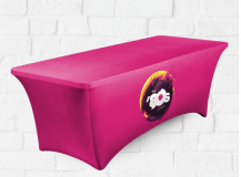 Full Colour Printed Stretch Tablecloth